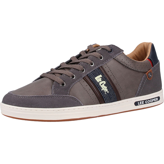 Lee Cooper Sneaker Lederimitat castle rock