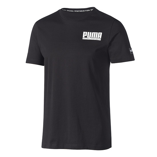 Puma T-Shirt Athletics Style Schwarz