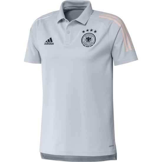 Adidas Deutschland DFB Poloshirt EM 2021 Grau