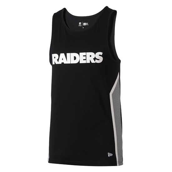 New Era Oakland Raiders Tanktop Mesh Print schwarz