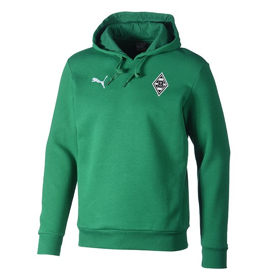 Puma Borussia Mönchengladbach Hoodie Badge grün