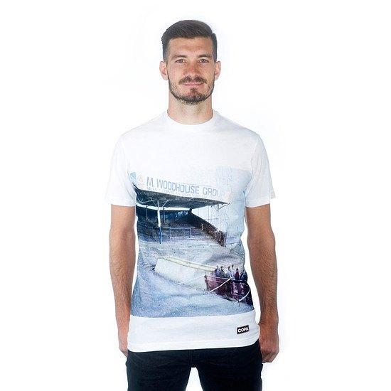 Copa T-Shirt Preston North End Terraces weiß