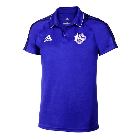Adidas FC Schalke 04 3S Polo Shirt