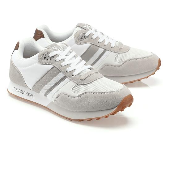 U.S. POLO ASSN. Sneaker Julius weiß/grau