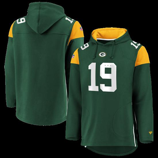 Fanatics Green Bay Packers Hoodie Overhead dunkelgrün/gelb