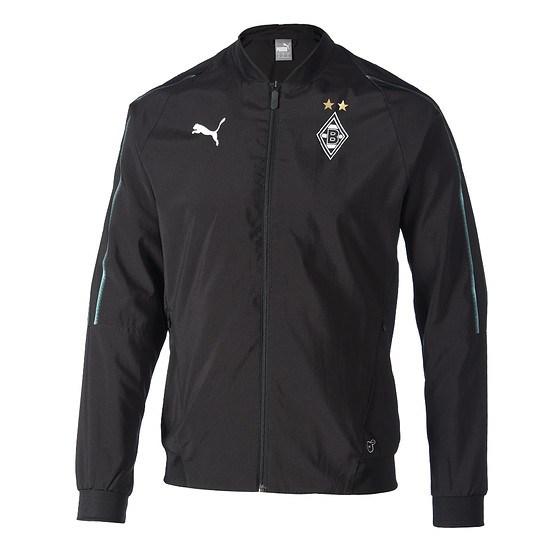 Puma Borussia Mönchengladbach Trainingsjacke schwarz