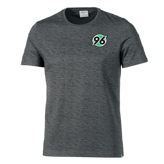 Macron Hannover 96 T-Shirt Fan Line grau/grün