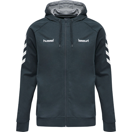hummel Kapuzenjacke Go Cotton Zip india ink
