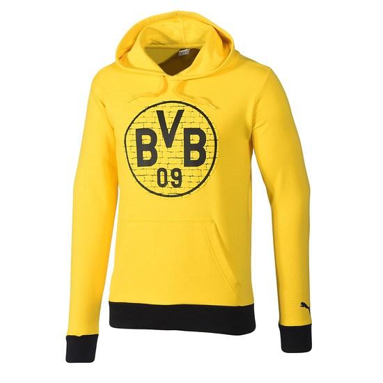 Puma Borussia Dortmund Hoodie Logo BVB Gelb