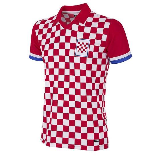 Copa Kroatien 1992 Short Sleeve Retro Shirt