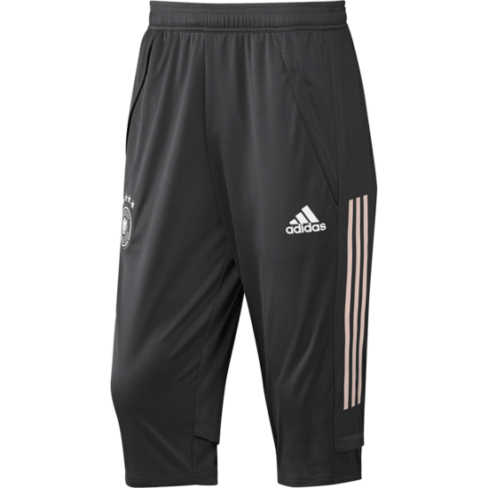 Adidas Deutschland DFB Trainingshose 3/4 EM 2020 Anthrazit