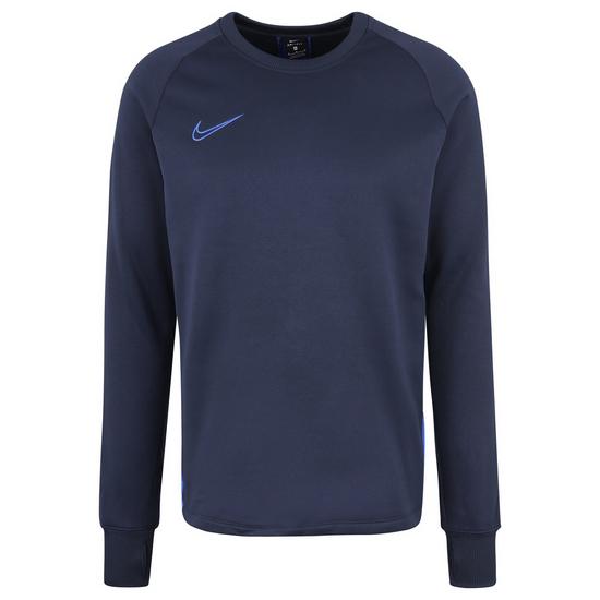 Nike Longsleeve Therma Academy Crew dunkelblau/blau
