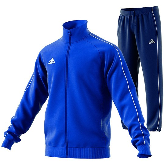 Adidas Trainingsanzug Core 18 Royal/Dunkelblau