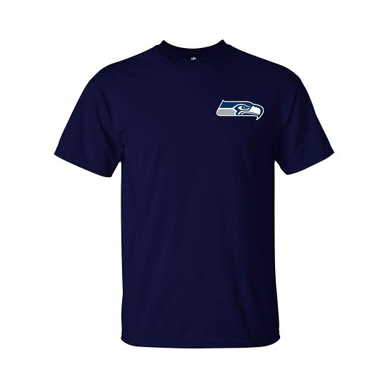 Majestic Athletic Seattle Seahawks T-Shirt Realm of Champions navy