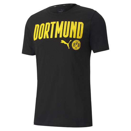 Puma Borussia Dortmund T-Shirt DORTMUND 2020/2021 Schwarz