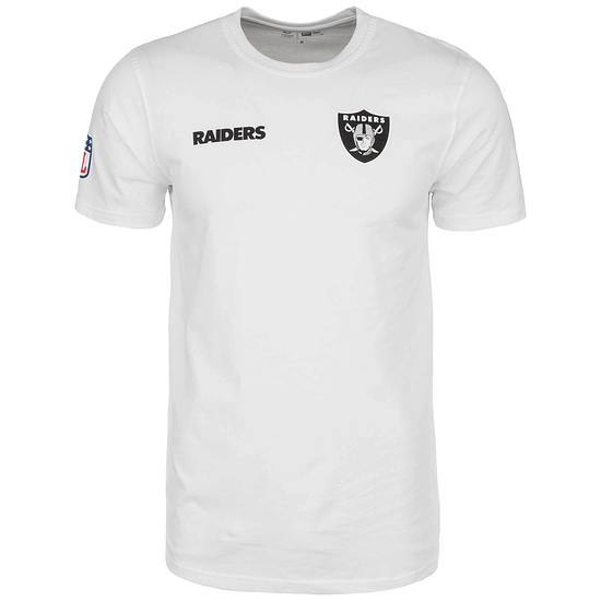 New Era Las Vegas Raiders T-Shirt Established Number weiß