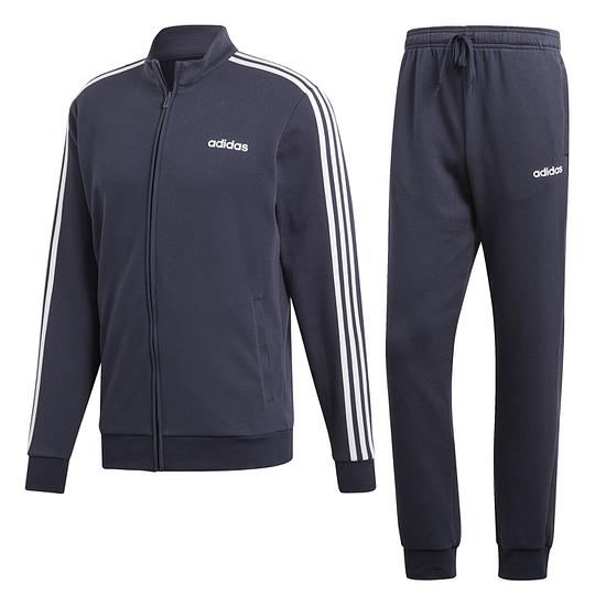 Adidas Trainingsanzug 3 Streifen RELAX Blau