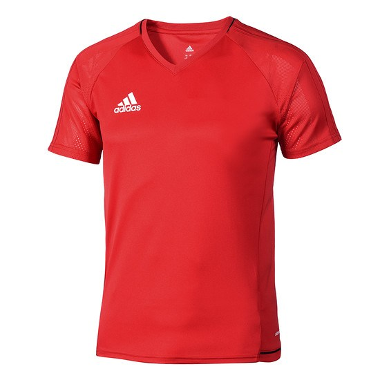 Adidas Trainingsshirt Tiro Kinder Rot