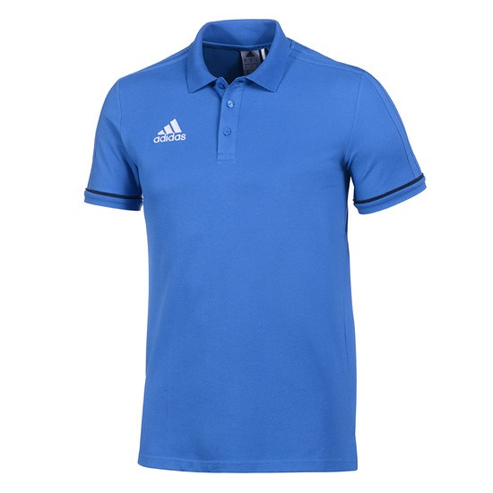 Adidas Polo Shirt Tiro Kinder Blau