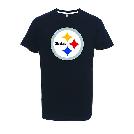 Majestic Athletic Pittsburgh Steelers T-Shirt Logo Big schwarz