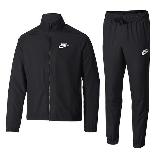 Nike Trainingsanzug Track Suit schwarz/weiß