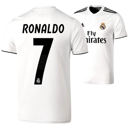 Adidas Real Madrid Heim Trikot RONALDO 2018/2019 Kinder