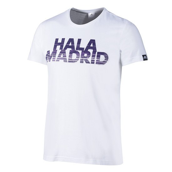 Adidas Real Madrid T-Shirt HALA MADRID