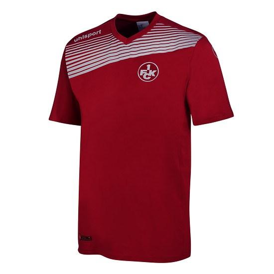 uhlsport 1. FC Kaiserslautern T-Shirt Liga 2.0 rot/weiß
