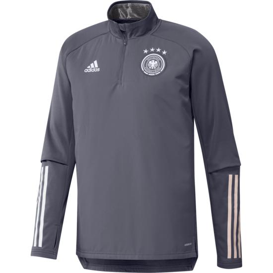 Adidas Deutschland DFB Trainingstop Warm EM 2020 Dunkelgrau
