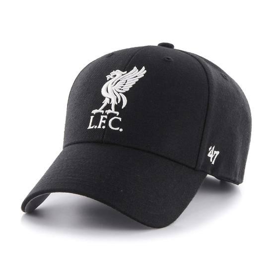 47 Brand FC Liverpool Cap MVP schwarz
