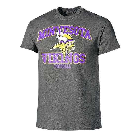 Majestic Athletic Minnesota Vikings T-Shirt Treser dunkelgrau