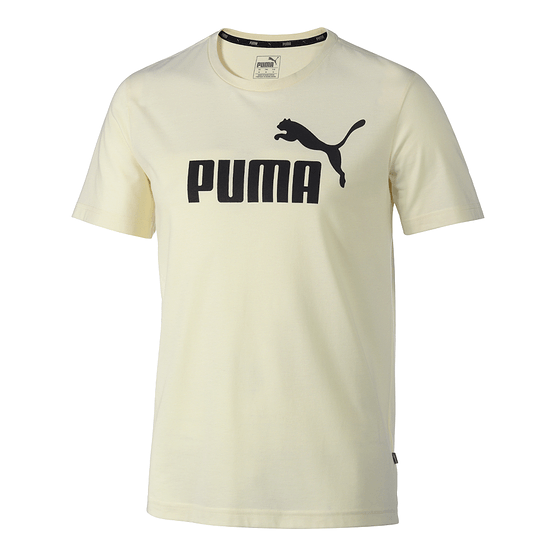 Puma T-Shirt ESS + White Smoke