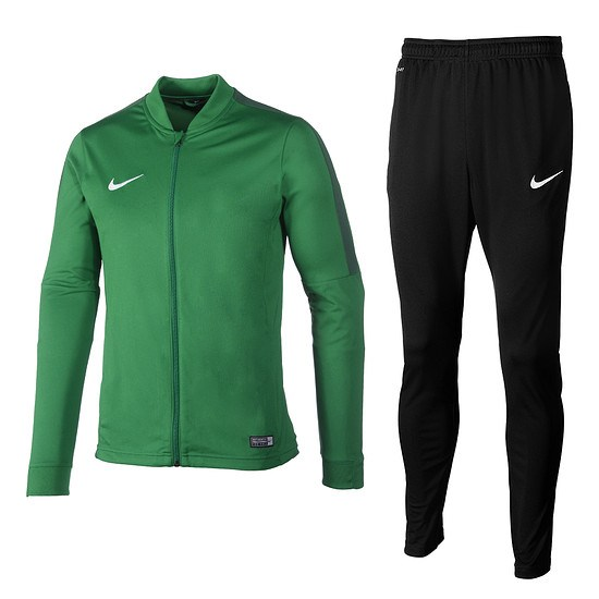 Nike Trainingsanzug Classic Grün/Schwarz