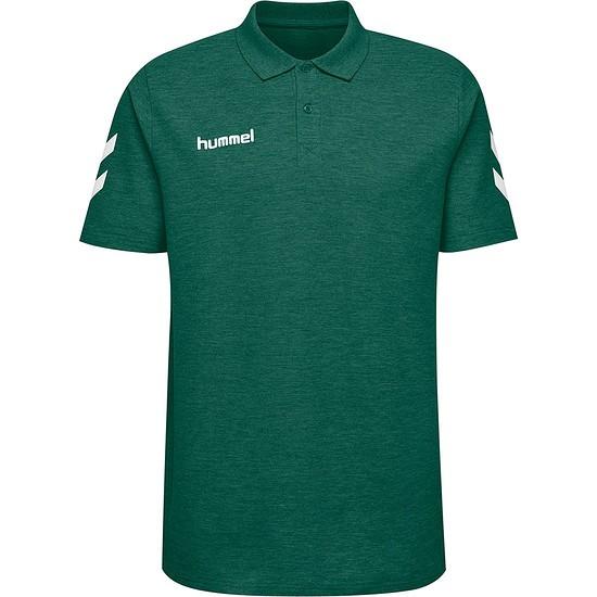 hummel Poloshirt Cotton grün