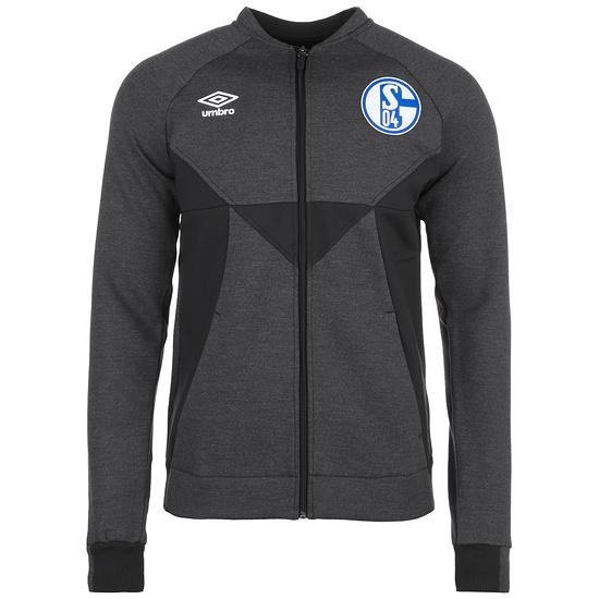 Umbro FC Schalke 04 Präsentationsjacke 2019/2020 grau