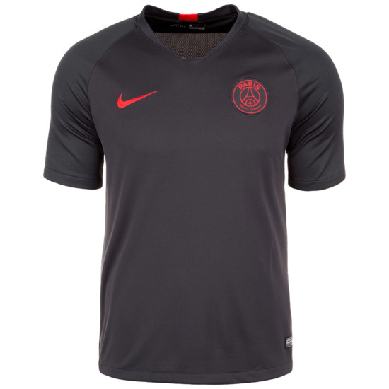 Nike Paris Saint-Germain Training T-Shirt Schwarz