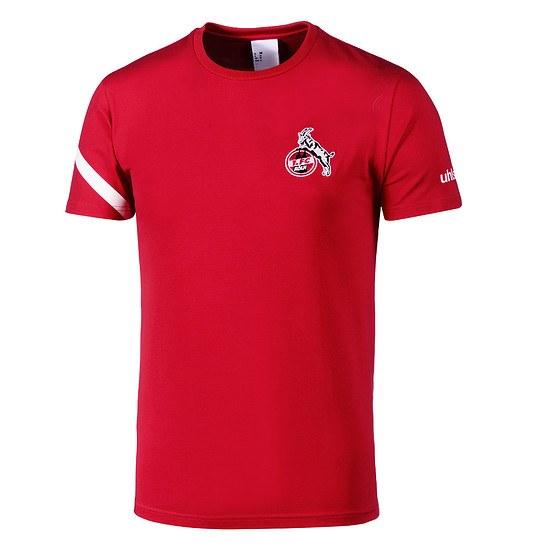 uhlsport 1. FC Köln T-Shirt Essential Pro rot