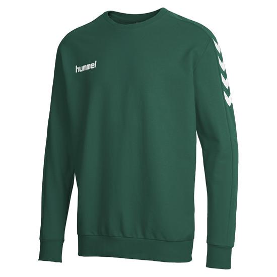 hummel Sweatshirt Core Cotton grün