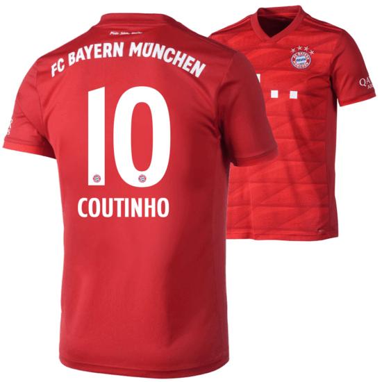 Adidas FC Bayern München Heim Trikot COUTINHO 2019/2020 Kinder