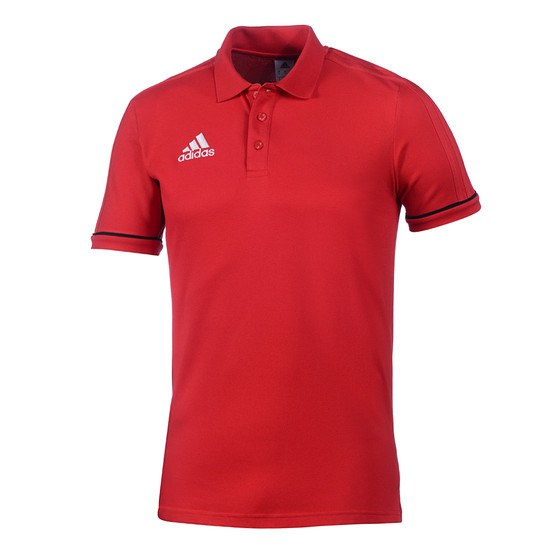 Adidas Polo Shirt Tiro Kinder Rot