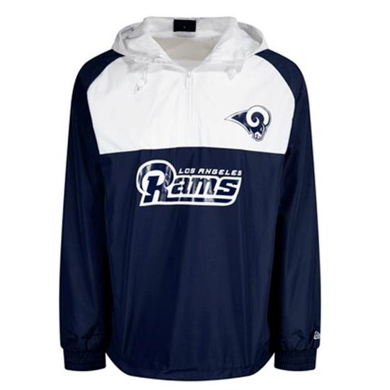 New Era Los Angeles Rams Windbreaker blau/weiß