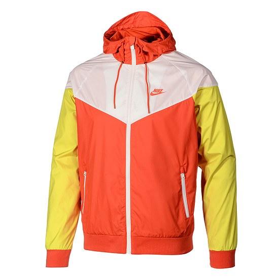 Nike Kapuzenjacke Windrunner orange/orange