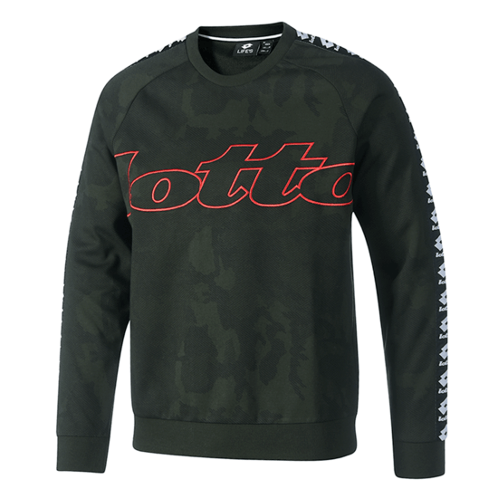 Lotto Sweatshirt Athletica III RN PRT PL grün