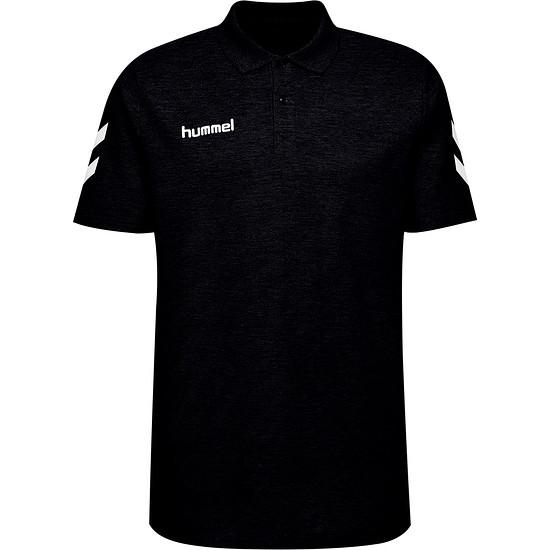hummel Poloshirt Cotton Logo schwarz