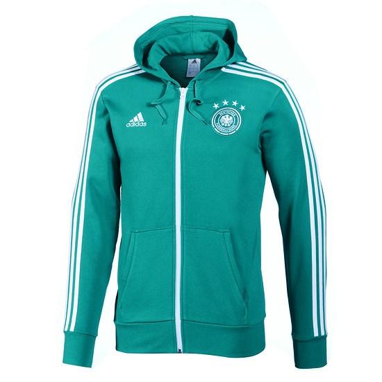 Adidas DFB Fullzip Hoodie Grün