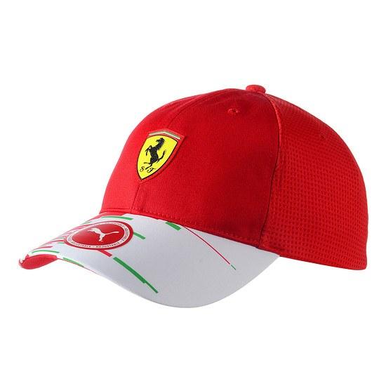 Ferrari Cap Team rot