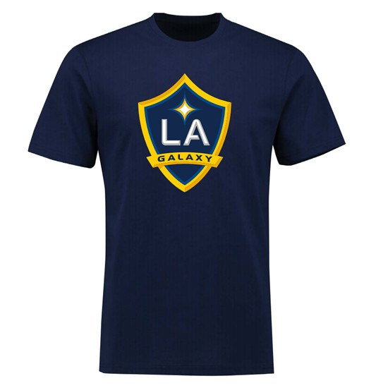 Majestic Athletic LA Galaxy T-Shirt Zlatan Ibrahimovic Back navy