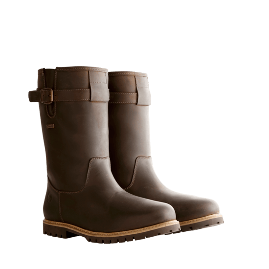 TRAVELIN OUTDOOR Winterstiefel Island dunkelbraun