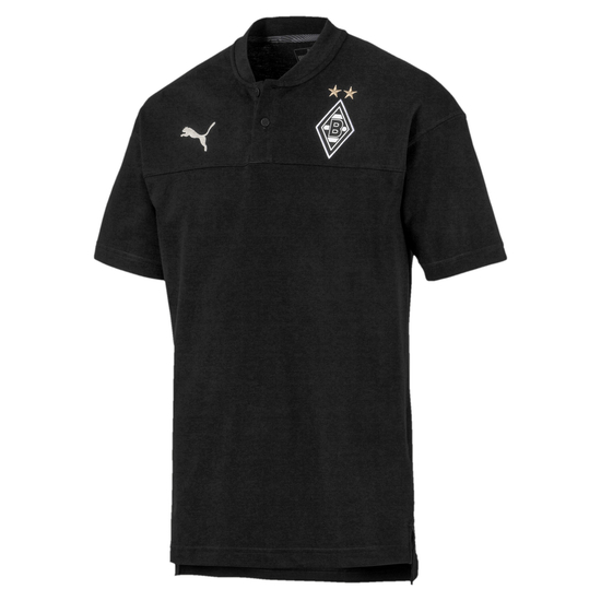 Puma Borussia Mönchengladbach Poloshirt Casual 2019/2020 Schwarz