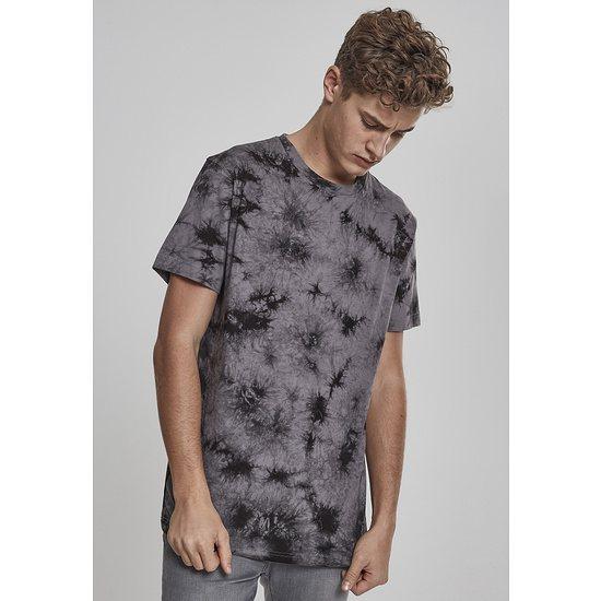URBAN CLASSICS T-Shirt Batik grau/schwarz